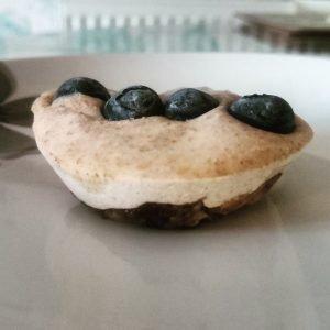 Olive Oil Cheesecake Bites