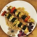 Limed Chicken Kebabs