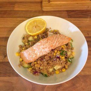 Salmon & Quinoa Salad – GF