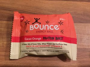 Bounce Energy Ball – Cacao Orange Protein Bar