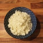 Plain Cauliflower Rice