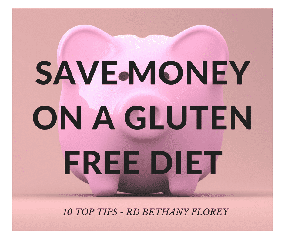 save money on a gluten free diet