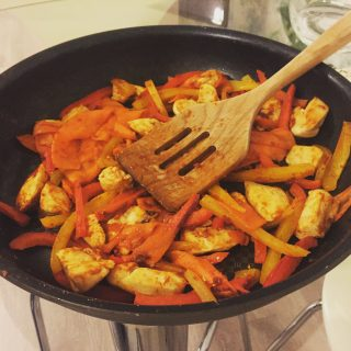 low FODMAP fajita