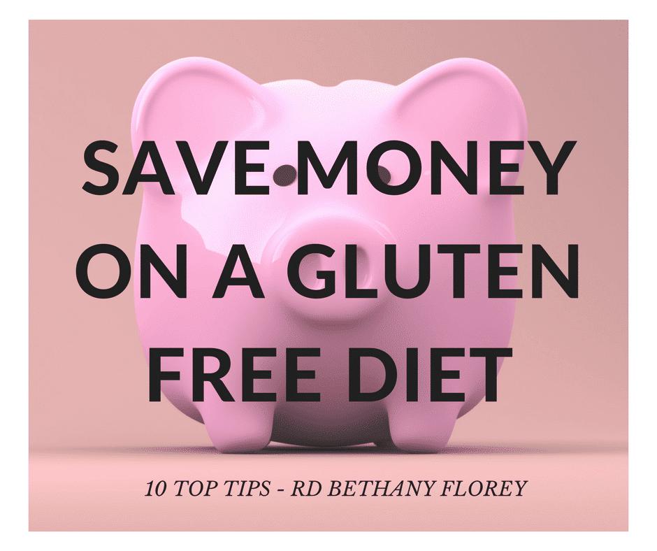 save money on a gluten free diet