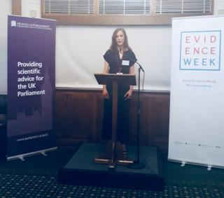 Evidence Week – A Dietitian at The Houses of Parliament